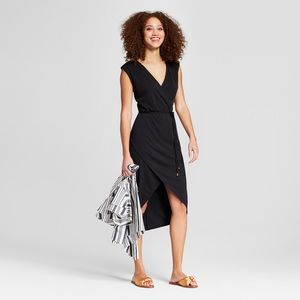 A.N.D. (A New Day) Little Black Wrap Dress